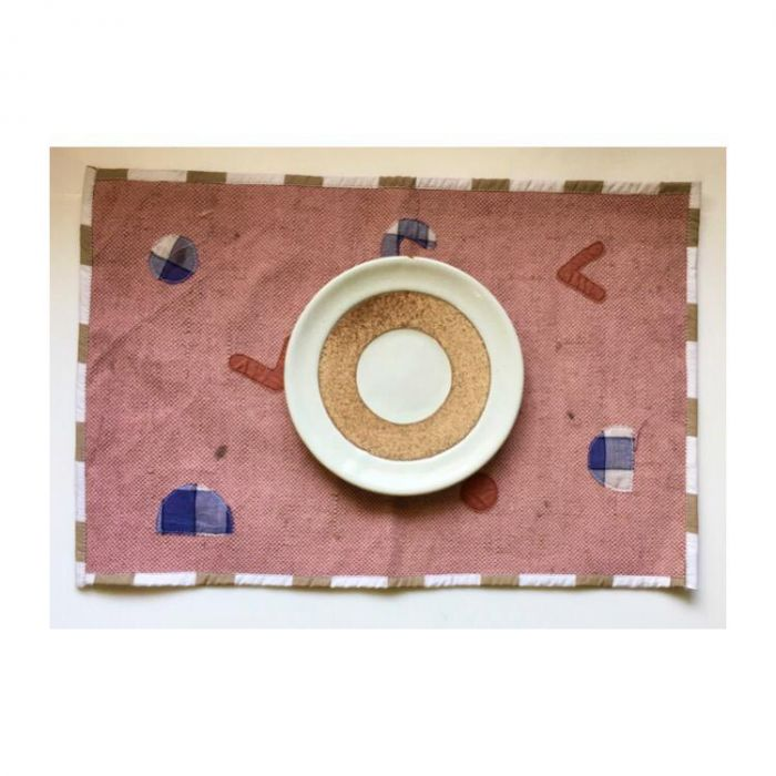 Patchwork Placemats. eco friendly zero waste