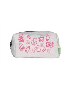 Baby Canvas Cotton Pouch