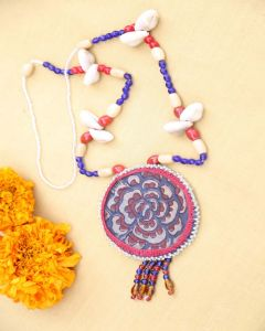 Rosette pendal neck piece